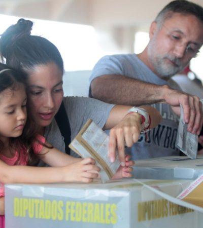 GALERÍA | DECISIÓN 2018:  Los mejores de Quintana Roo votaron por México