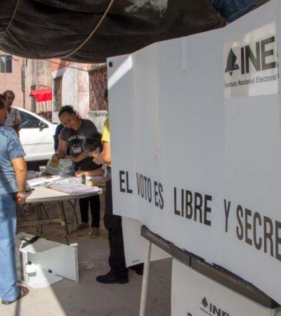 Reportan 'saldo blanco' tras cierre de casillas en Cancún y una intensa movilización policiaca