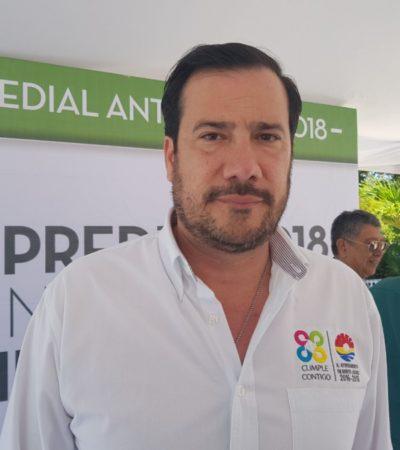 TRANQUILOS: Aún es prematuro hablar de entrega-recepción en Benito Juárez, dice Guillermo Brahms