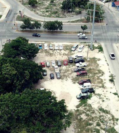 ESTACIONAMIENTOS, COMEDORES…: Continúa el uso lucrativo de espacios públicos sin que intervenga el Ayuntamiento de Benito Juárez