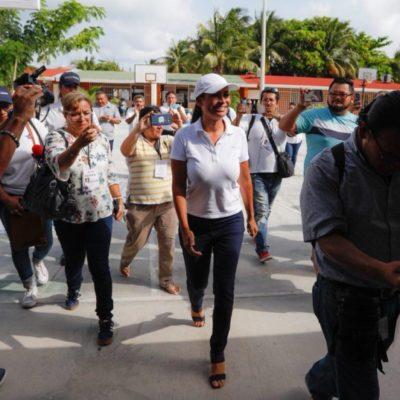 Laura Fernández exalta la alta participación ciudadana este domingo primero de julio