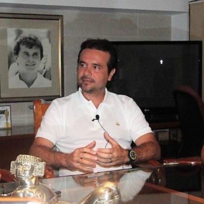 Por ahora, mi horizonte es Cozumel, dice Pedro Joaquín Delbouis