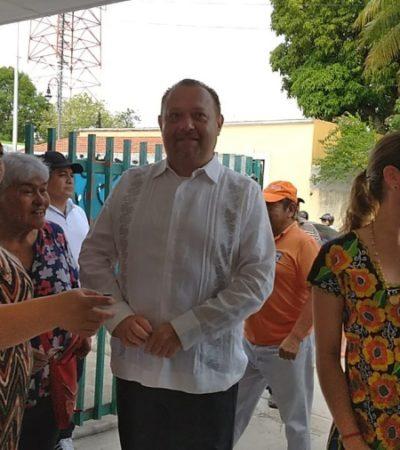 Paoly, Mary Hernández y 'Chac Me'ex' ejercen su voto en Felipe Carrillo Puerto