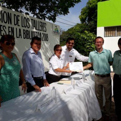 'Mis vacaciones en la biblioteca 2018' se convierte en otra opción para veranear en Puerto Morelos