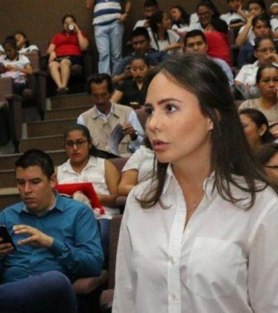 Tyara Schleske, quien votó en contra de reformar la Ley de Movilidad, se mofa irónicamente en redes sociales de los que llama diputados 'salvadores de taxistas'