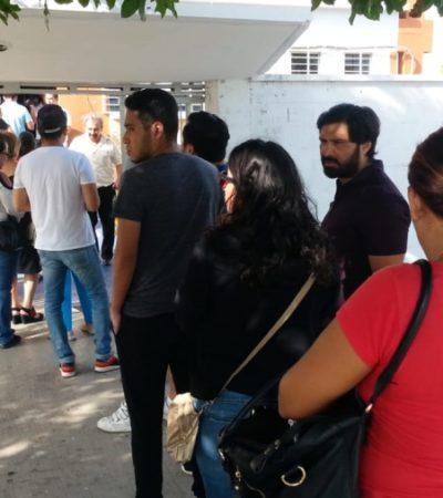 En la capital de Quintana Roo, unos votan y otros temen por su vida