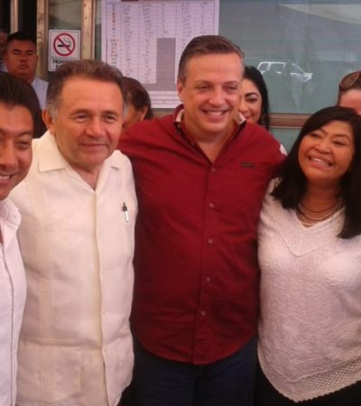ENTREGAN CONSTANCIA DE MAYORÍA EN EL DISTRITO 04: Jesús Pool Moo ya es diputado electo