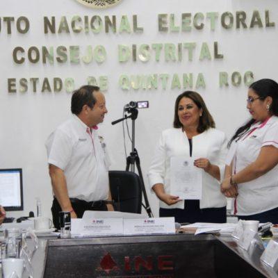 DAN CONSTANCIA DE MAYORÍA EN EL DISTRITO 02: Patricia Palma Olvera se convierte en diputada federal con 93,040 votos