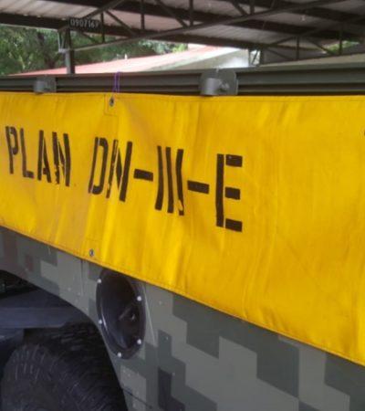 Militares conmemoran los 50 años del Plan DN III