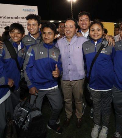 Invierten casi 10 mdp en rehabilitación de Alberca Olímpica de Cancún; destaca Gobernador beneficios para más de 15 mil deportistas en QR