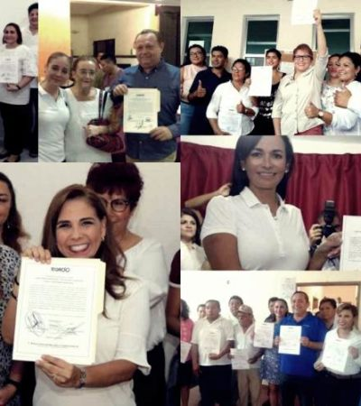 VALIDAN A LOS PRÓXIMOS PRESIDENTES MUNICIPALES: Culmina entrega de constancias de triunfo de las 11 alcaldías de Quintana Roo
