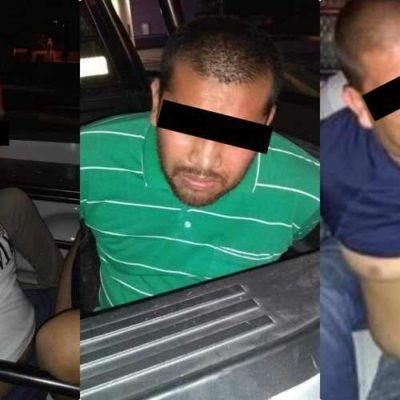 Detienen a hombres armados que intentaban huir de la policía en Chetumal