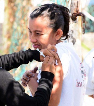 Cozumel se prepara para combatir la influenza A H1N1; piden a la población que se vacunen para prevenir el contagio