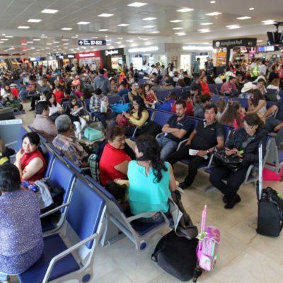 Aeropuerto de Cancún registra 2 millones de pasajeros en junio; en Cozumel aumentó el turismo doméstico un 52%