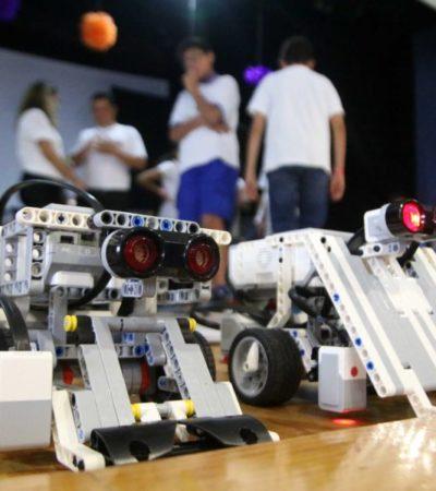 """""""En Cancún falta apoyo para fomentar la robótica desde la infancia"""", asegura especialista"""