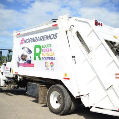 Maximizan servicio de recoja de basura en Benito Juárez; buscan que se vuelva más ágil y eficaz en toda la ciudad