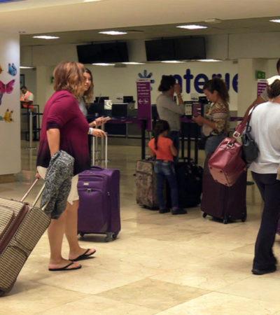 Por falta de demanda, aerolíneas estadounidenses disminuyen operaciones hacia destinos mexicanos
