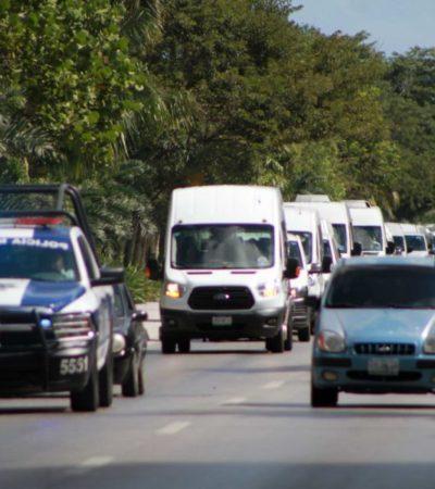 """""""Urvans no son aptas como transporte público, pero autoridades lo permiten"""", asegura José Bizarro, presidente del movimiento Tour"""