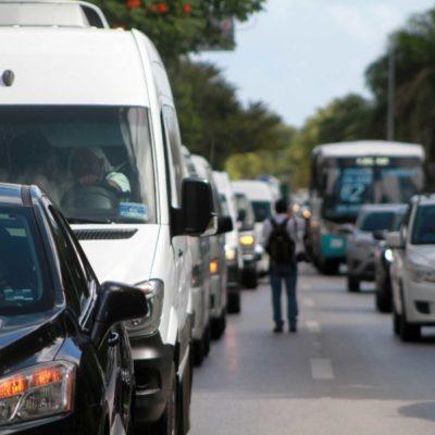 Transportistas turísticos registran alta ocupación, pero piden a las autoridades municipales que no se presten al juego de taxistas y velen por la seguridad del turismo