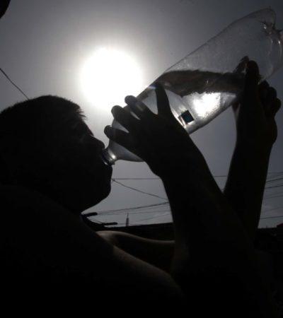 Autoridades piden tomar precauciones durante la Canícula; la temperatura podría alcanzar los 38 °C a la sombra