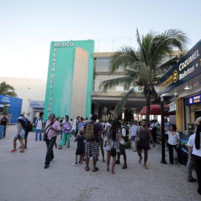 Sin explicaciones y en plena temporada alta, Aguakán deja sin servicio a la Terminal Marítima de Playa del Carmen; locatarios exigen que la empresa responda