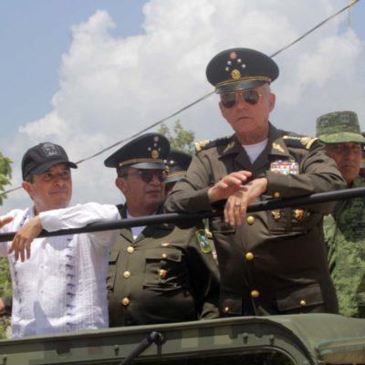 TENDRÁ QUINTANA ROO 'CIUDAD MILITAR': Entregan título de propiedad a la Sedena para la construcción de un complejo castrense en la zona continental de Isla Mujeres
