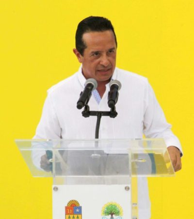 """Rechaza Carlos Joaquín tener filiación política con el PAN, el PRD o cualquier otro partido; """"no soy militante del PAN, ni del PRD, ni de ningún otro partido"""", aclara"""