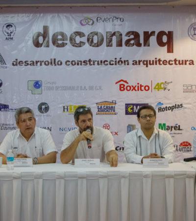 La expo Deconarq Cancún 2018 reunirá a especialistas de mantenimiento, desarrollo, construcción y arquitectura, enfocados en la hostelería del destino