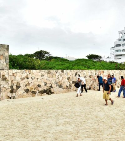 Regidores de Morena en BJ se pronuncian en contra de la venta de predio en playa Marlín