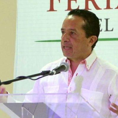 Se deslinda Carlos Joaquín y señala que la renuncia del fiscal Miguel Ángel Pech le corresponde al Congreso del Estado