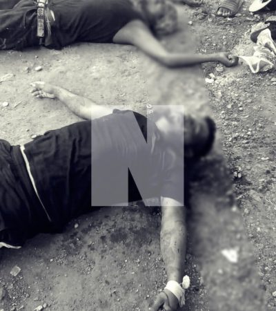 ATAQUE A BALAZOS EN LA REGIÓN 235: Un muerto y un herido en otro domingo violento en Cancún