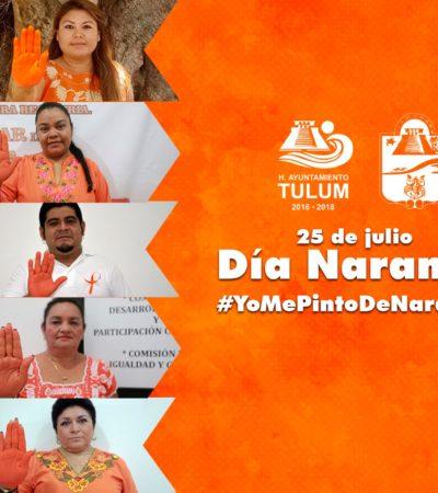 DÍA NARANJA EN TULUM: Difunde comuna videos para empoderar a la mujer ante casos de violencia de género