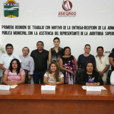 Ayuntamiento de Tulum realiza primera reunión para el proceso de entrega-recepción