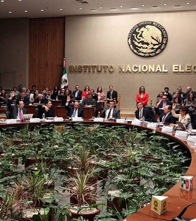 Sanciona INE a partidos políticos nacionales por irregularidades en materia de fiscalización