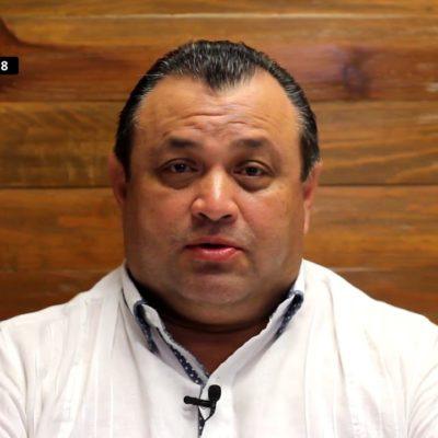 Eloy Peniche está en su derecho de impugnar para tratar de quedarse con regiduría en Cancún, dice el perredista Carlos Montalbán