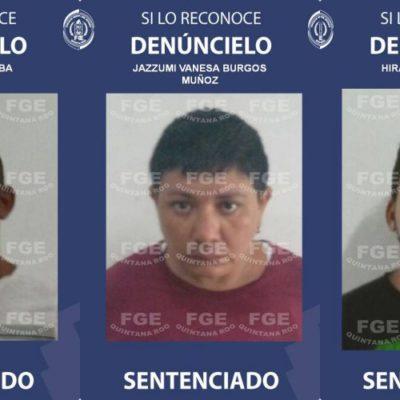 Logra Fiscalía sentencia histórica de 70 años para cada uno de tres secuestradores en Playa del Carmen