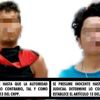 Dictan vinculación a proceso contra dos presuntos sicarios detenidos cuando arrastraban un cadáver en la 247 de Cancún