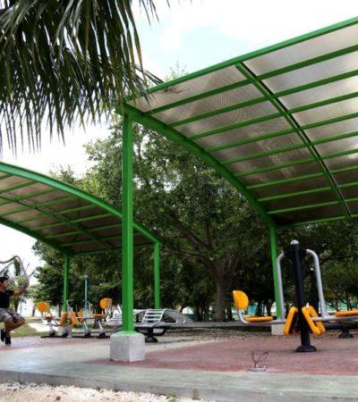 Gobierno de BJ entrega infraestructura digna para que sus habitantes puedan ejercitarse