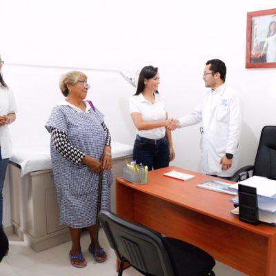 Amplían dispensarios médicos; la salud de portomorelenses, tema prioritario, asegura Laura Fernández