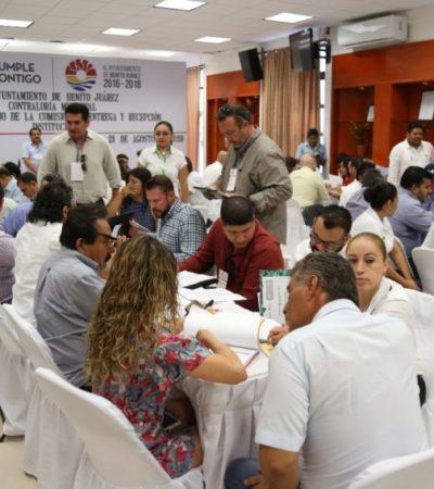 Ayuntamiento de BJ entrega información financiera y de Recursos Humanos a la administración entrante