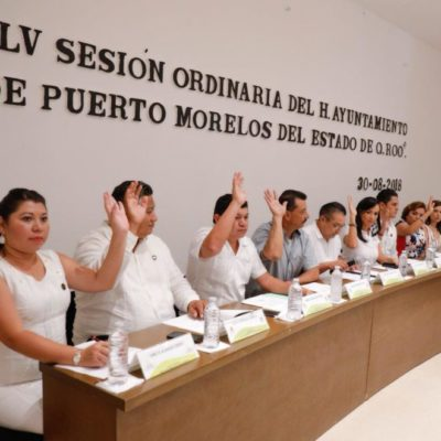 Cabildo de Puerto Morelos aprueba aplazar a septiembre el descuento del 60% en la expedición y renovación de licencias de conducir de todo tipo