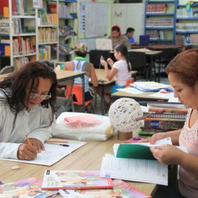 Buscan en Puerto Morelos empoderar a la mujer por medio de la alfabetiazación