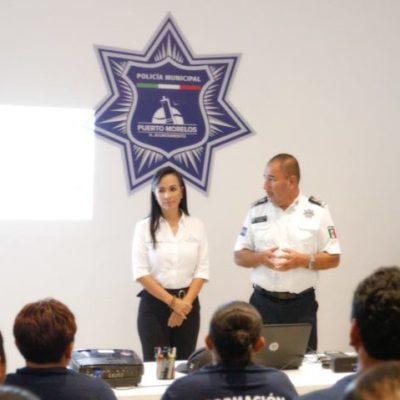 Supervisa Laura Fernández las instalaciones operativas de Seguridad Pública y Tránsito Municipal de Puerto Morelos