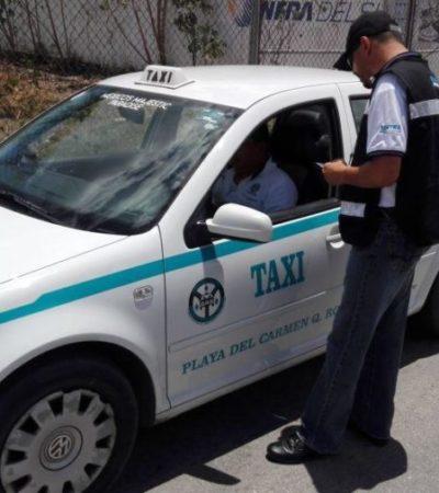 Por tratar mal a la ciudadanía, despiden a tres inspectores de Sintra en Playa del Carmen