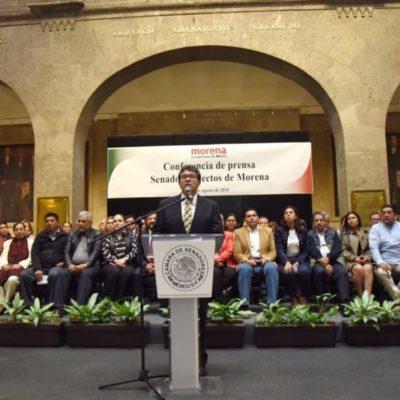 Senadores electos de Morena rechazan que gobernadores quieran arrebatar el triunfo del partido político