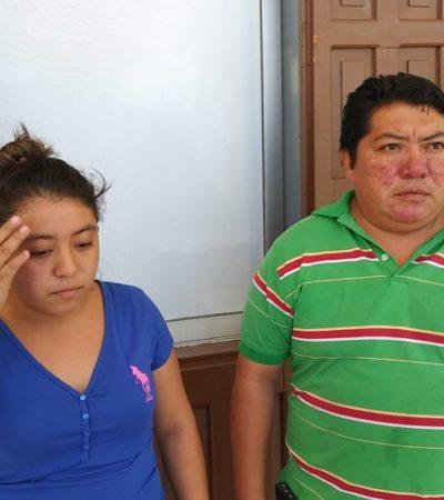 Al iniciar audiencia contra el novio adolescente, familiares de madre e hija asesinadas piden justicia en FCP