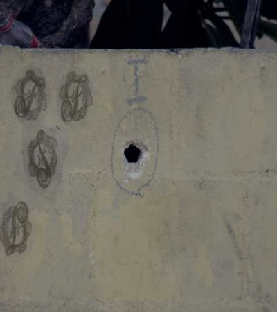 EL DÍA DESPUÉS DE LA BALACERA EN LA 230: Tras el bullicio de una fiesta rota a disparos, queda una estela de dolor y muerte en un vecindario de Cancún