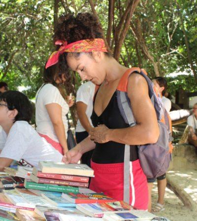 Libros Libres busca llevar la lectura a colonias de Playa del Carmen y zona maya