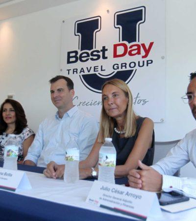 Presenta Best Day su universidad; pretenden capacitar y formar a su personal en tecnología, turismo y hotelería