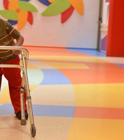 La asociación civil 'Pasitos de Gigantes', busca apoyo de la ciudadanía para mantener su labor con niños discapacitados en Cancún